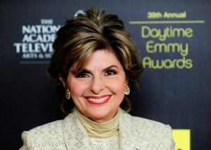Gloria Allred arrives at the 39th Daytime Emmy Awards in Beverly Hills
